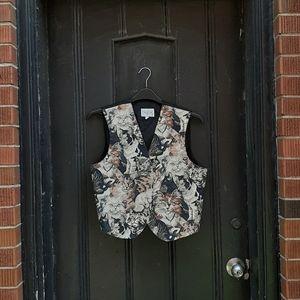 Adorable vintage cat vest